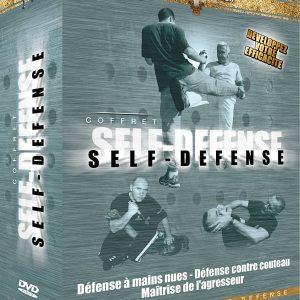 Coffret Self-Défense: DVD 1 - Défense contre couteau DVD 2 - Techniques en situations des Forces de l'ordre DVD 3 - Boxe de rue