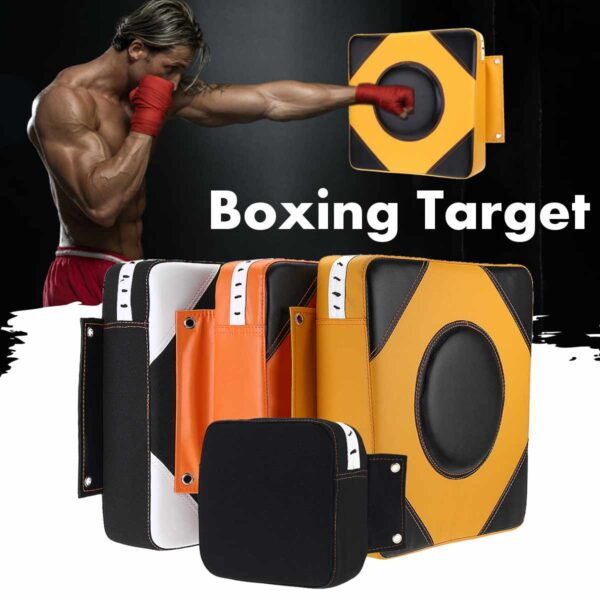 PU Wall Punch Boxing Bags Pad Focus Target Pad Wing Chun Boxing Fight Sanda Training Bag Sandbag Category for home outdoor use