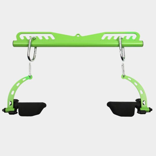 High Low Pulley Cable Attachments Home Gym Lat Pull Down Bar Biceps Triceps Back Muscle Blaster Fitness Rowing Workout Handle